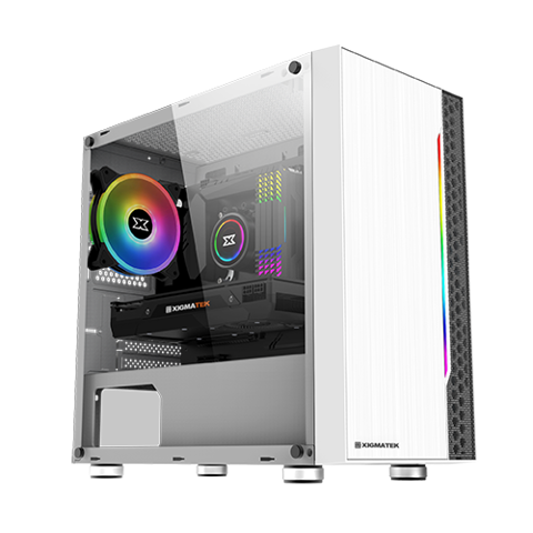 Case XIGMATEK GEMINI ARTIC (RGB STRIP)