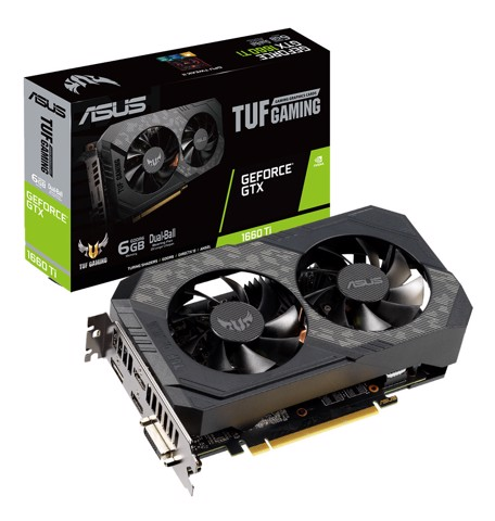 ASUS TUF Gaming GeForce® GTX 1660 Ti 6GB GDDR6