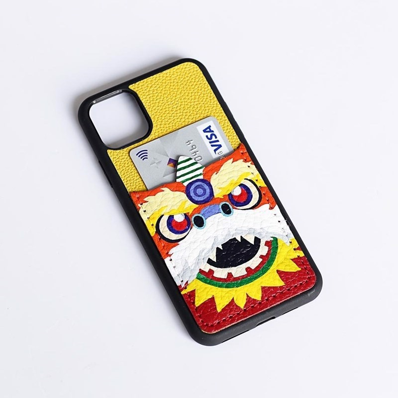 Case iPhone 11 Max V136-Ngăn Lân Do116