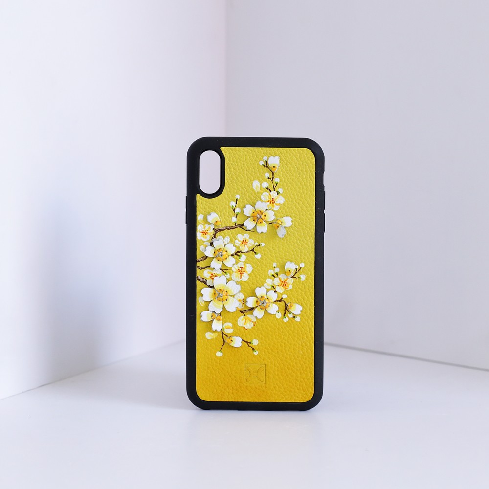 Case iPhone XS Max V125-PK Mai Vàng-20