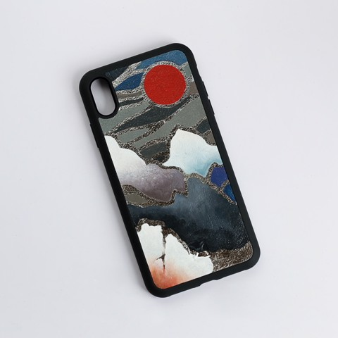 Case iPhone XS Max G02-Orient dát bạc