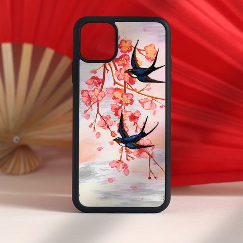 Case iPhone 11 Max-Sơn mài Song Yến