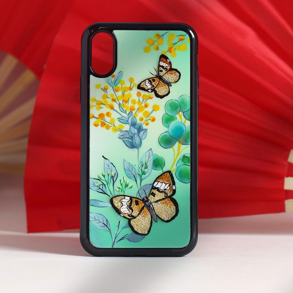 Case iPhone XS Max-Sơn mài Song Điệp