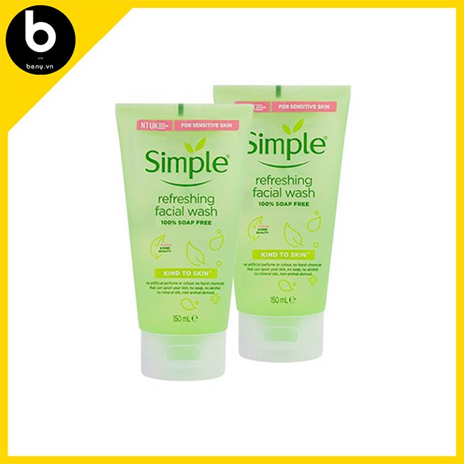 Sữa Rửa Mặt Simple Kind To Skin