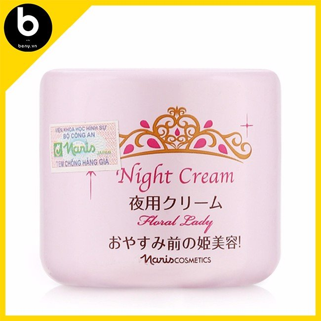 Kem Dưỡng Naris Cosmetic Floral Lady Night Cream