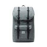 Herschel Little America | Large-Volume - Raven Crosshatch/Black