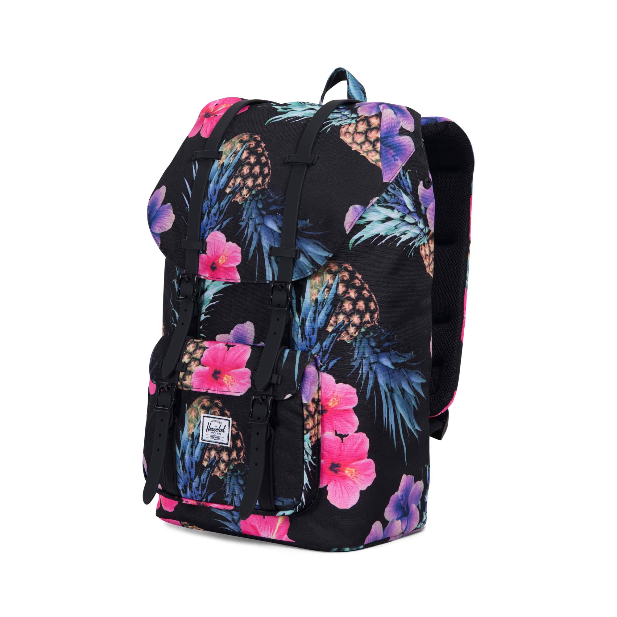 Herschel Little America | Large-Volume - Black Pineapple