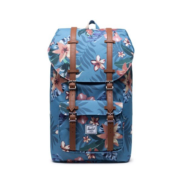Herschel Little America | Large-Volume - Summer Floral/Heaven Blue