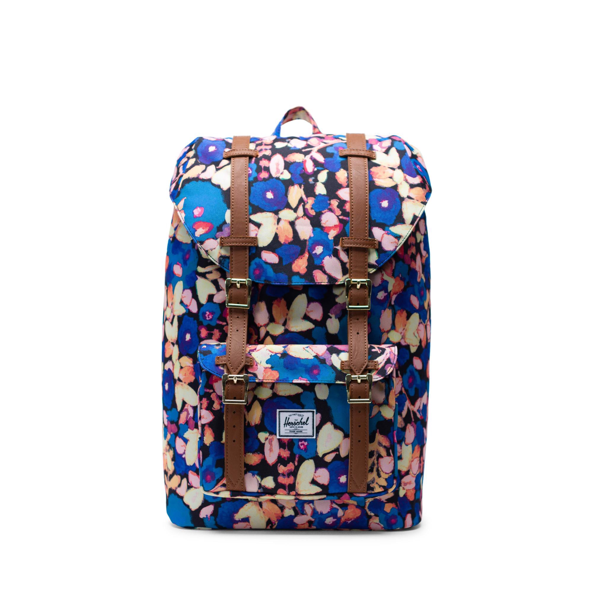 Herschel Little America | Mid-Volume - Painted Floral