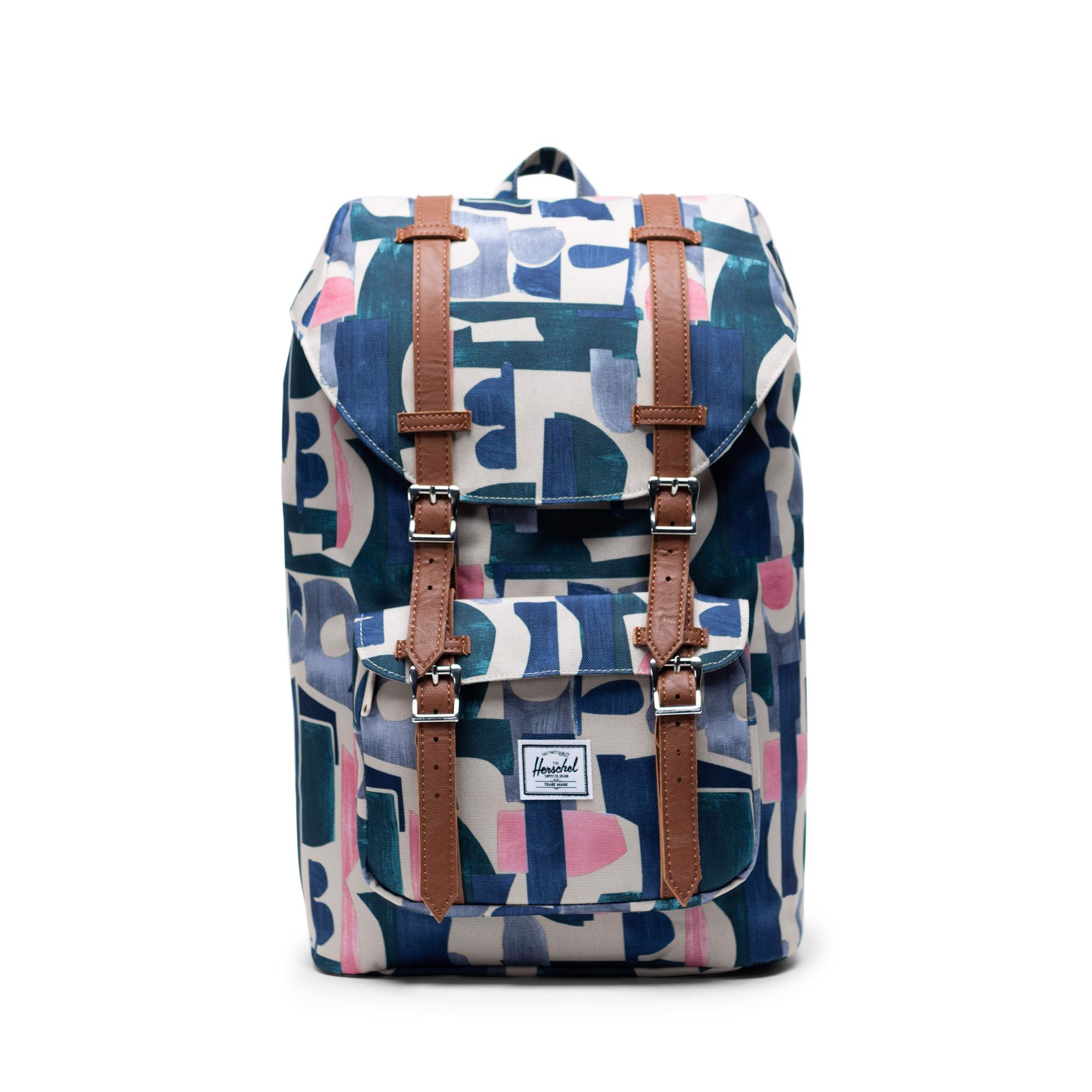Herschel Little America | Mid-Volume - Abstract Block