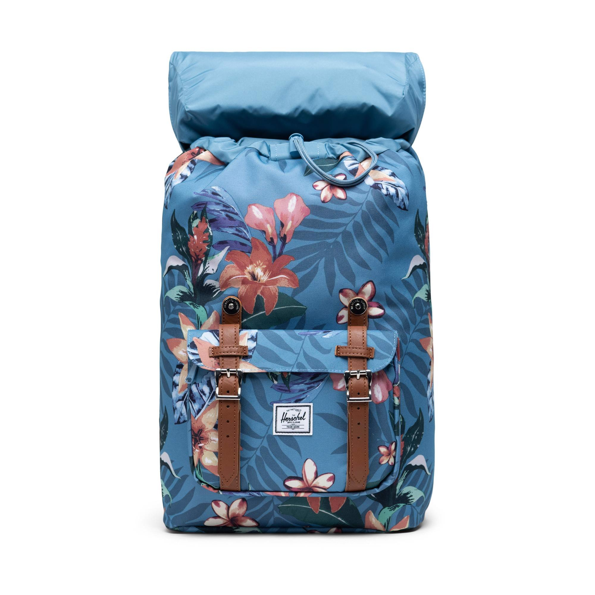 Herschel Little America | Mid-Volume - Summer Floral/Heaven Blue