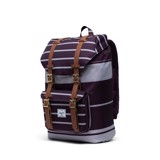Herschel Little America | Mid-Volume - Prep Stripe/Blackberry Wine