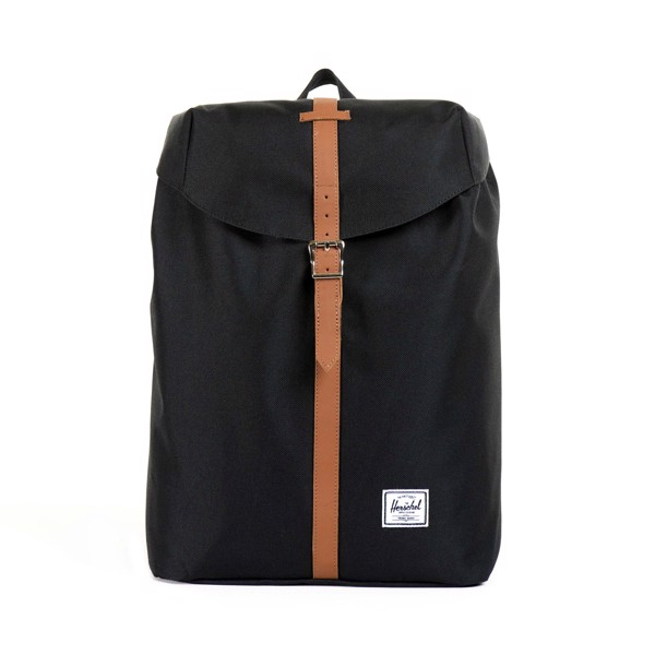 Herschel Post Backpack - Black/Tan