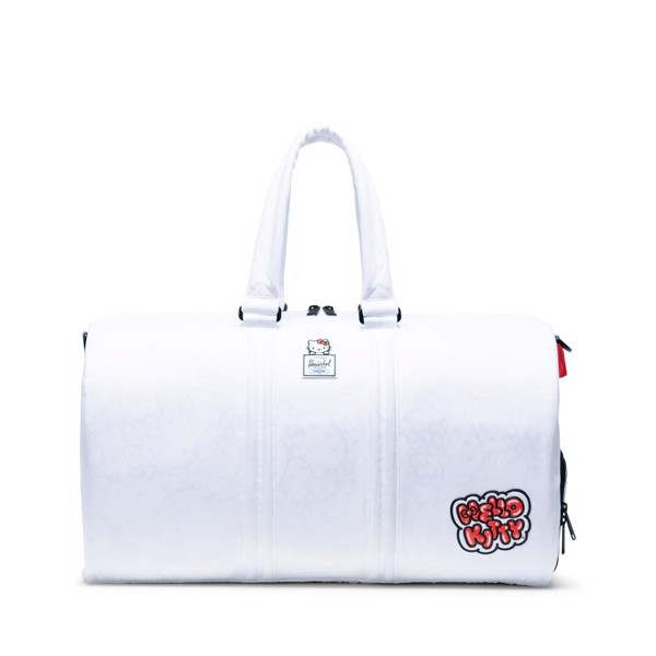 Herschel Nova Duffle Hello Kitty - White