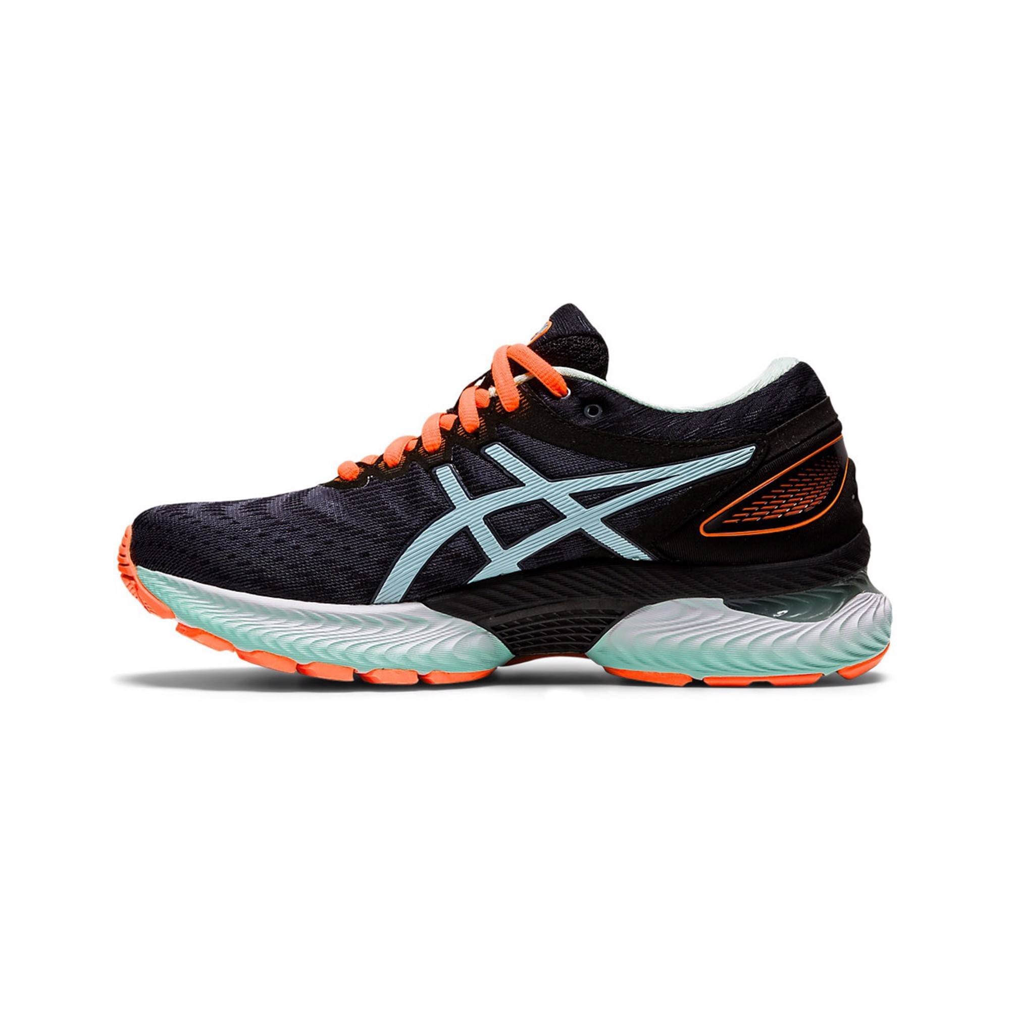 ASICS Gel-Nimbus 22 'Black/Bio Mint'