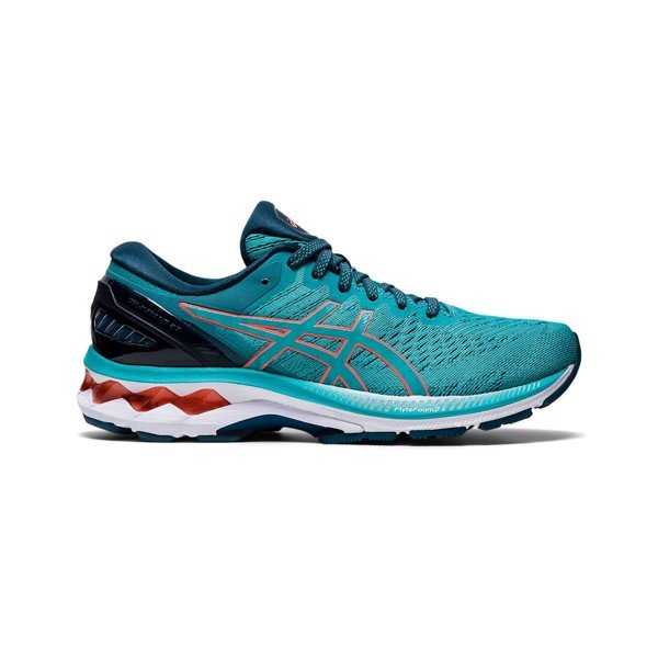 ASICS Gel-Kayano 27 'Techno Cyan/Sunrise Red'