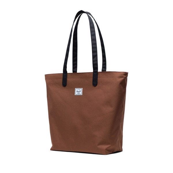 Herschel Mica Tote - Saddle Brown/Black