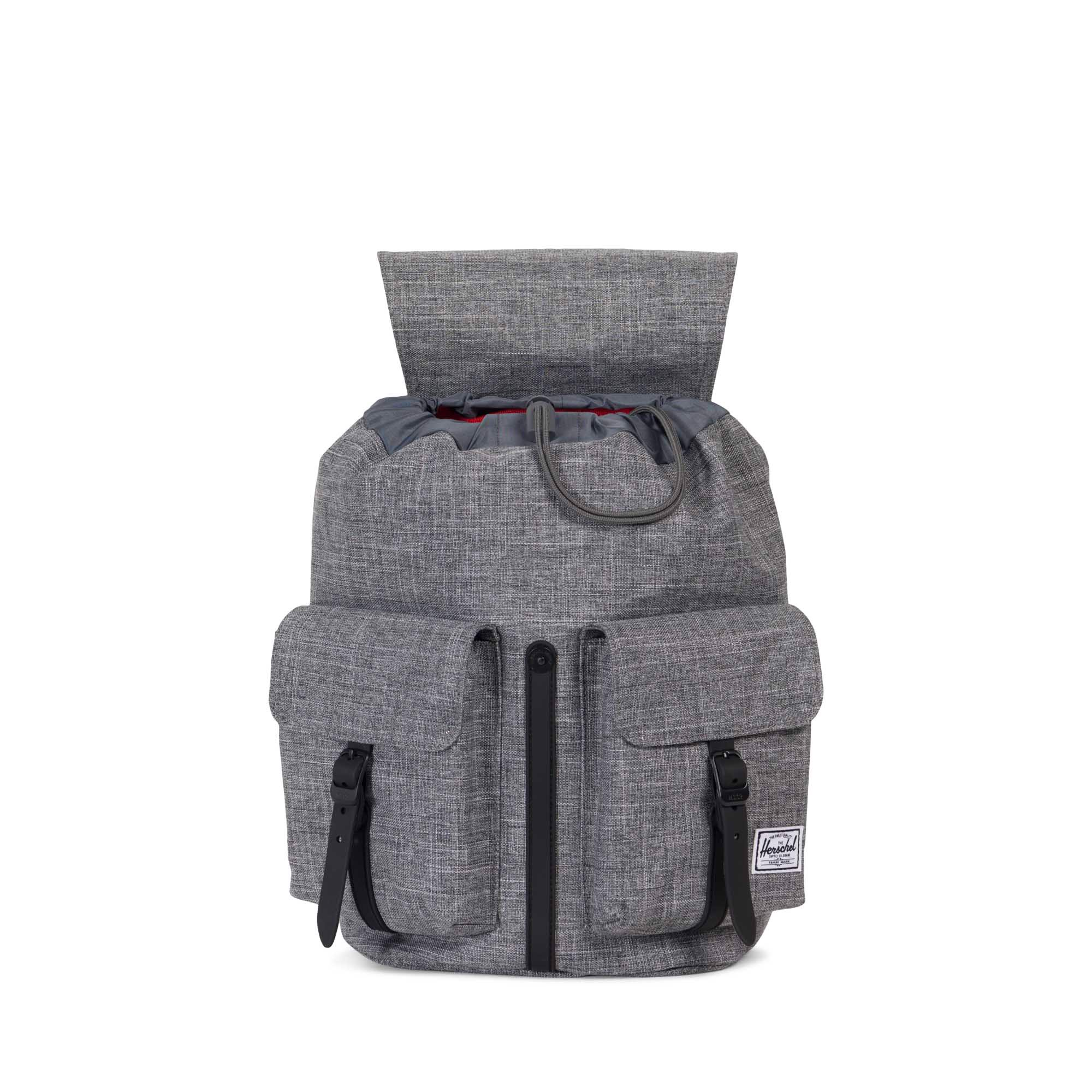 Herschel Dawson Small - Raven Crosshatch/Black