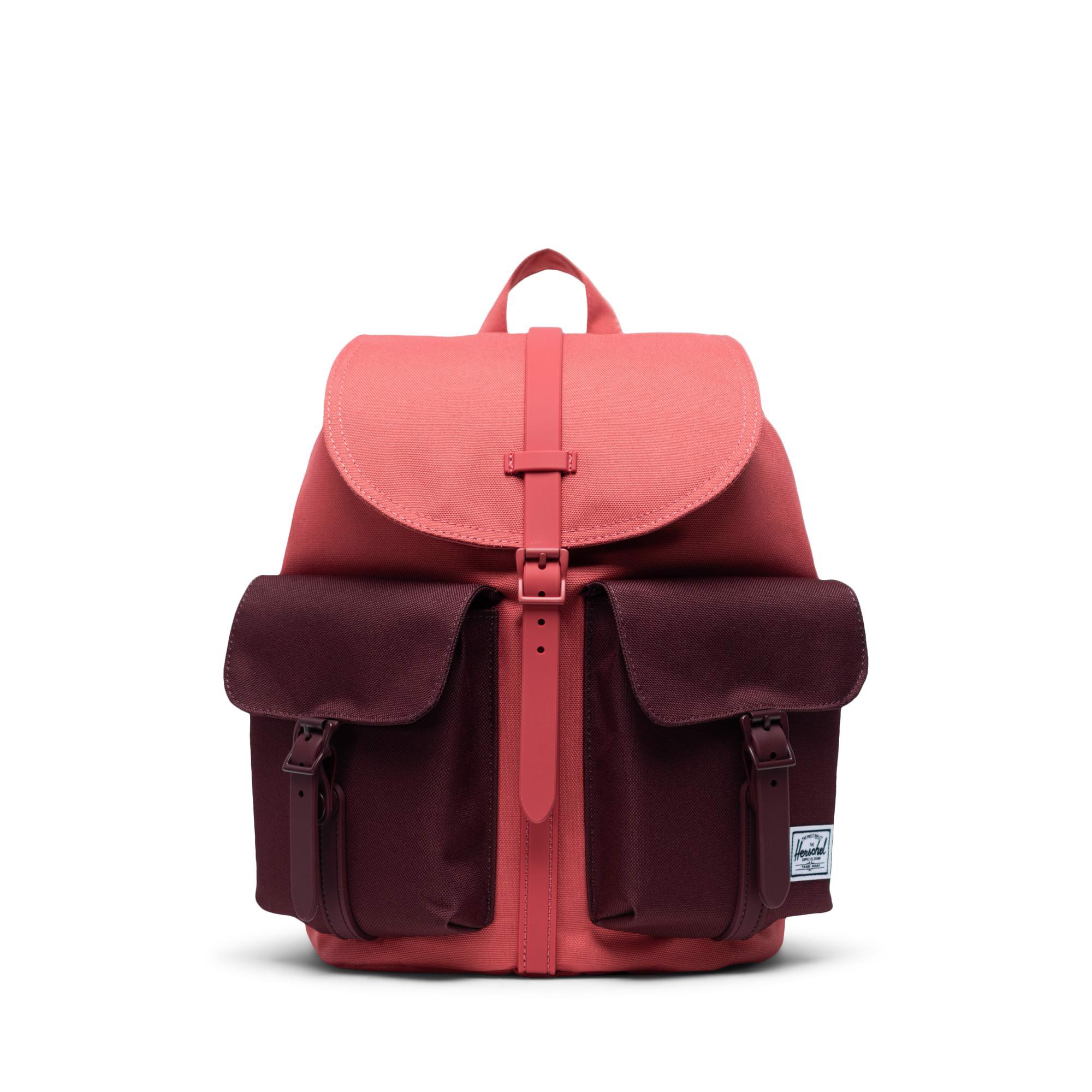Herschel Dawson Small - Mineral Red/Plum