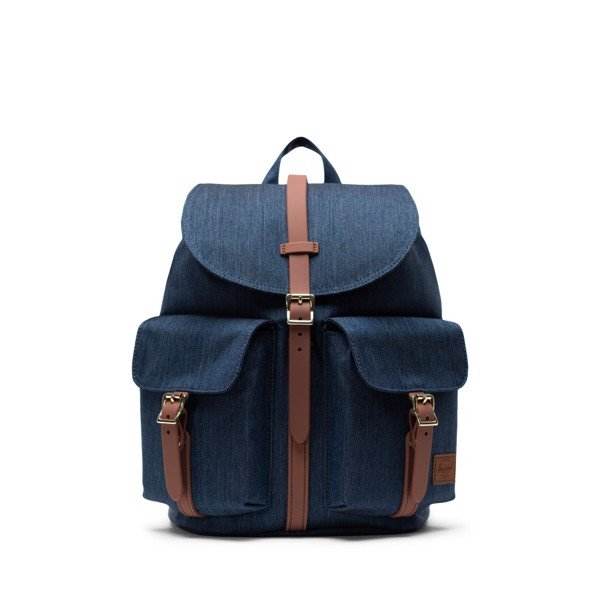 Herschel Dawson Small - Indigo Denim Crosshatch