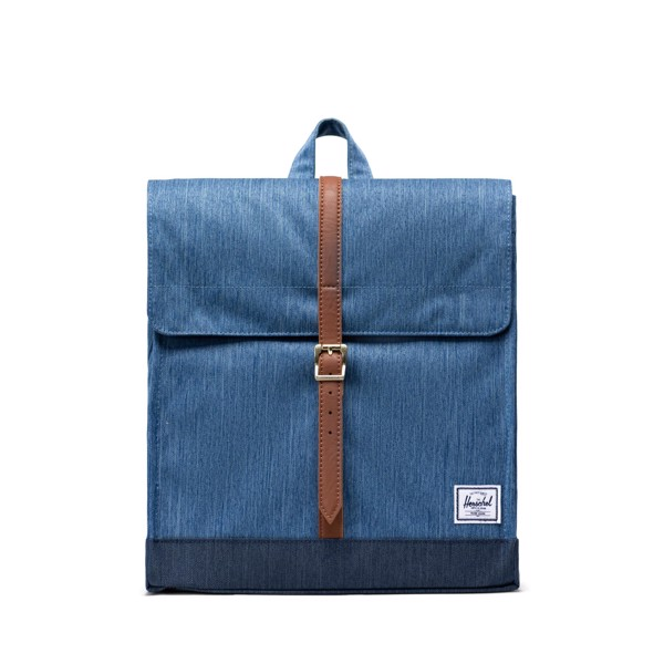 Hersche City Backpack | Mid-Volume - Faded Denim/Indigo Denim