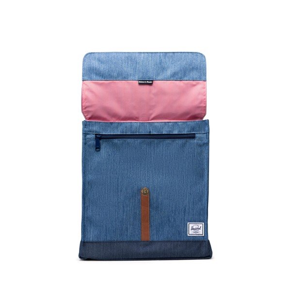 Herschel City Backpack | Mid-Volume - Faded Denim/Indigo Denim
