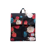 Hersche City Backpack | Mid-Volume - Vintage Floral/Black