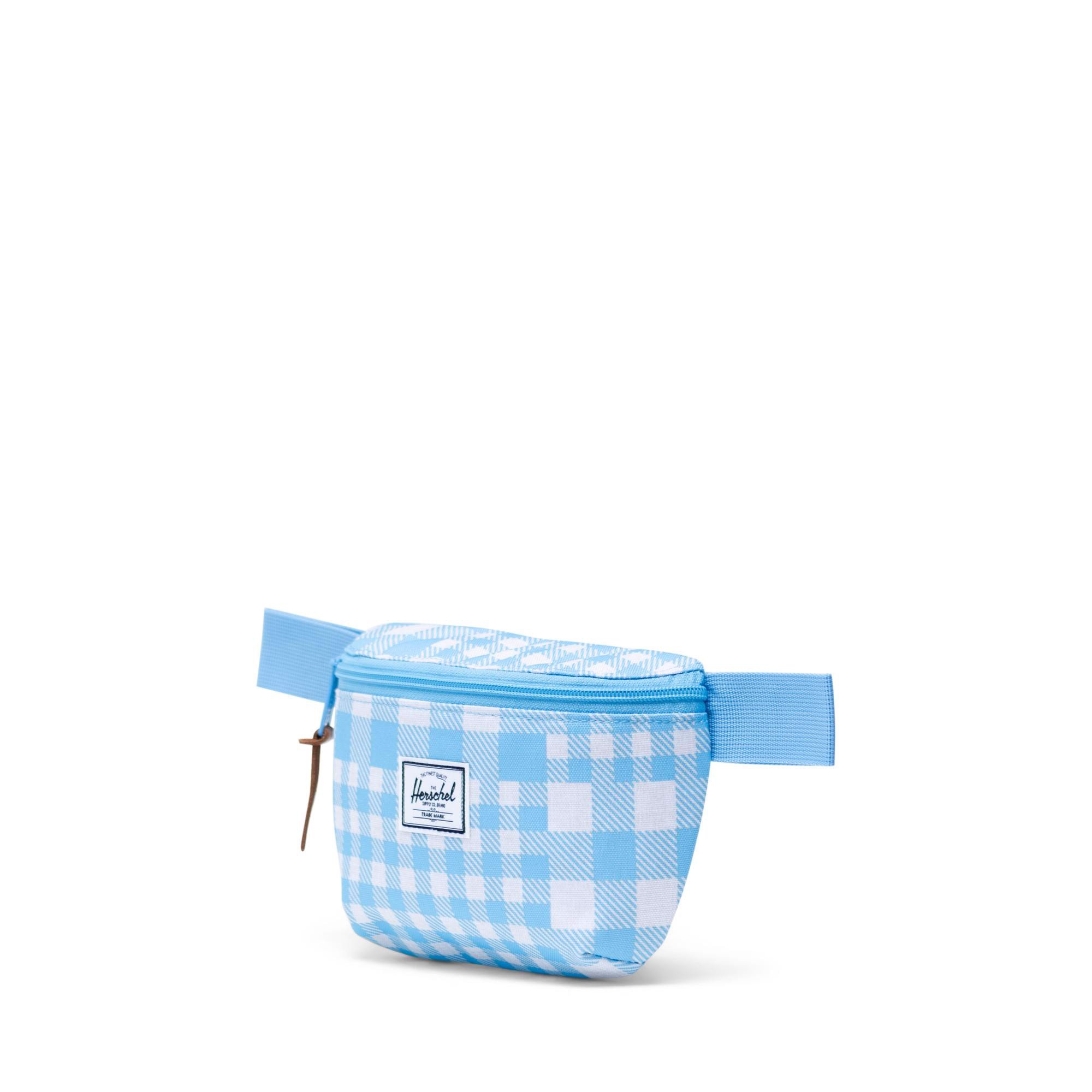 Herschel Fourteen Waist Pack - Gingham Alaskan Blue