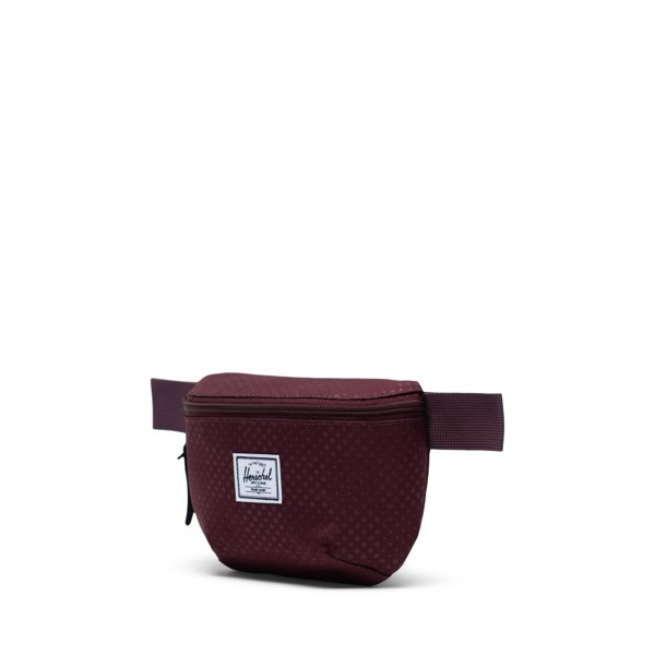 Herschel Fourteen Waist Pack - Plum Dot Check