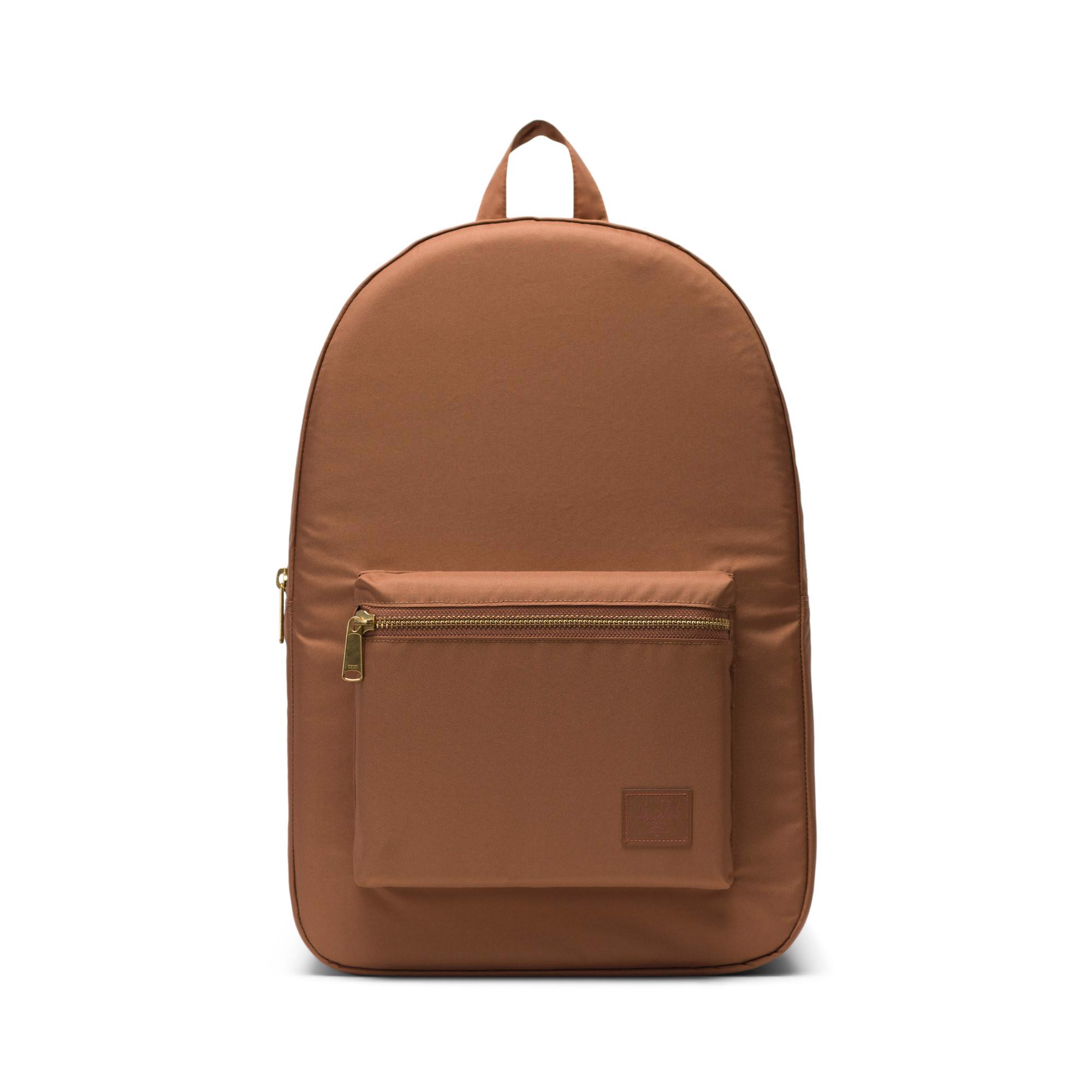 Herschel Settlement Light | Large-Volume - Saddle Brown
