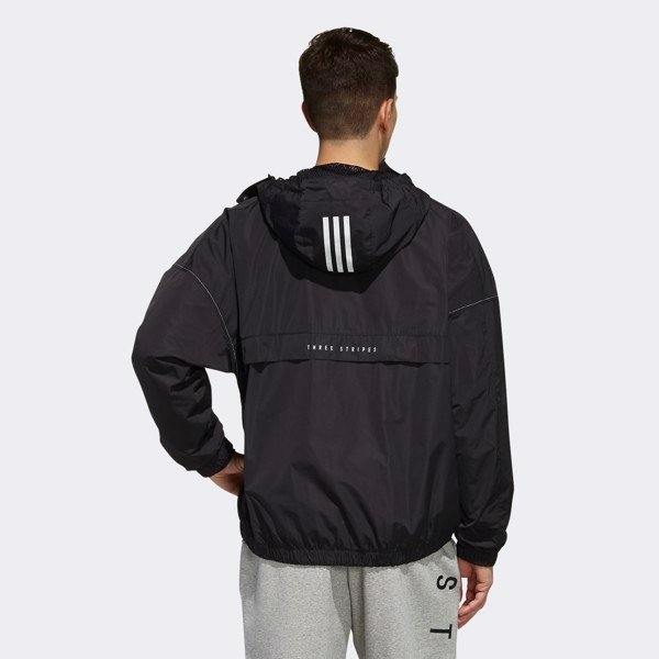 adidas S2S Woven Climalite Jacket - Black