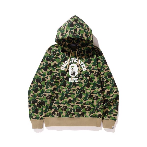 A Bathing Ape x UNDEFEATED First Camo Pullover Hoodie SS18