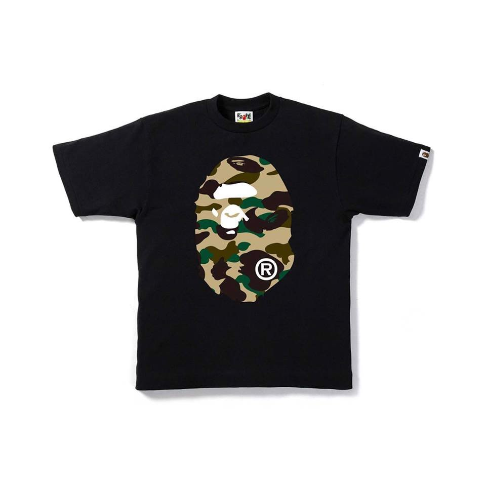 First Camo Big Ape Head SS18