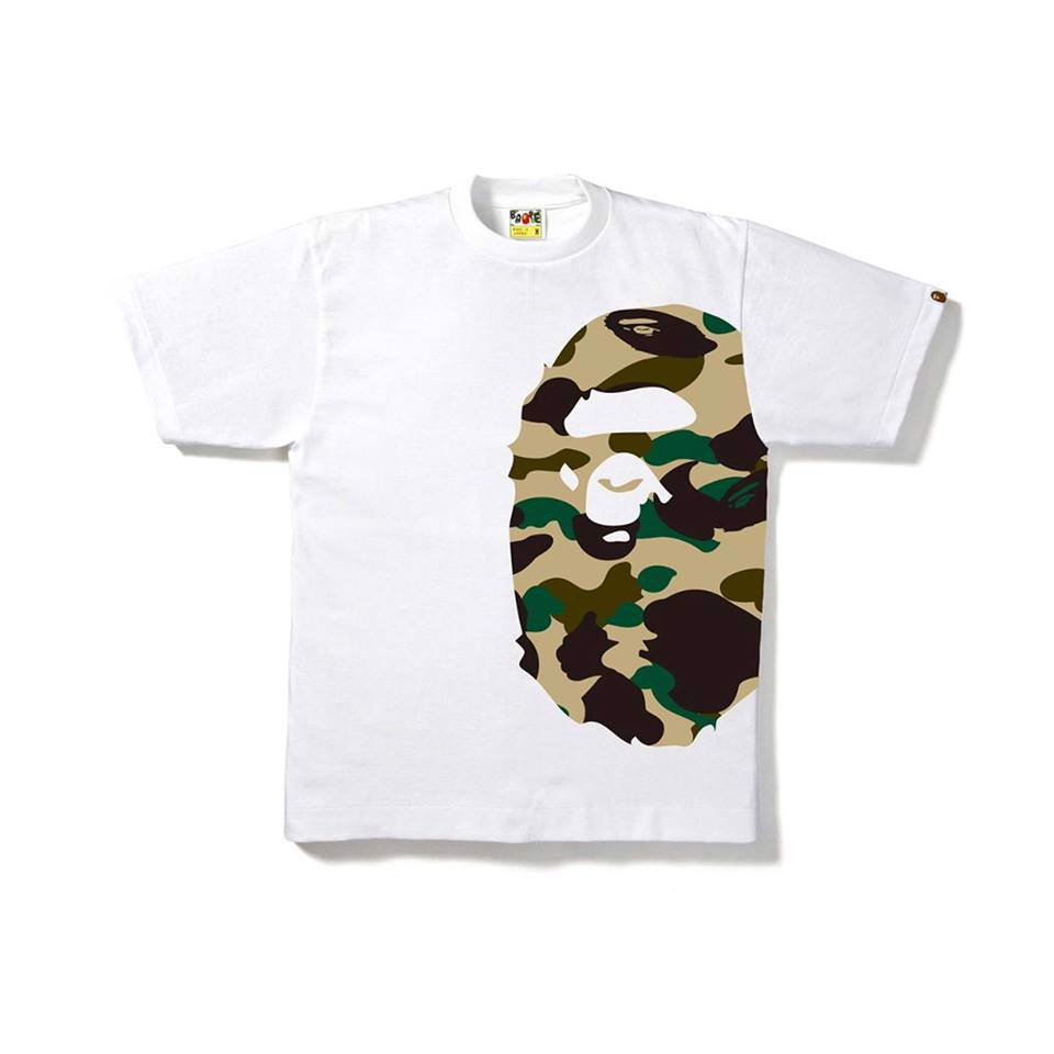 First Camo Side Big Ape Head Tee SS18