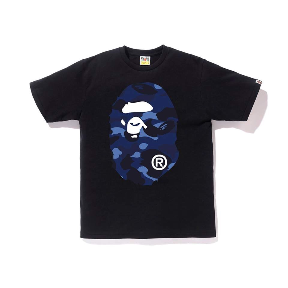 Color Camo Big Ape Head Tee SS18