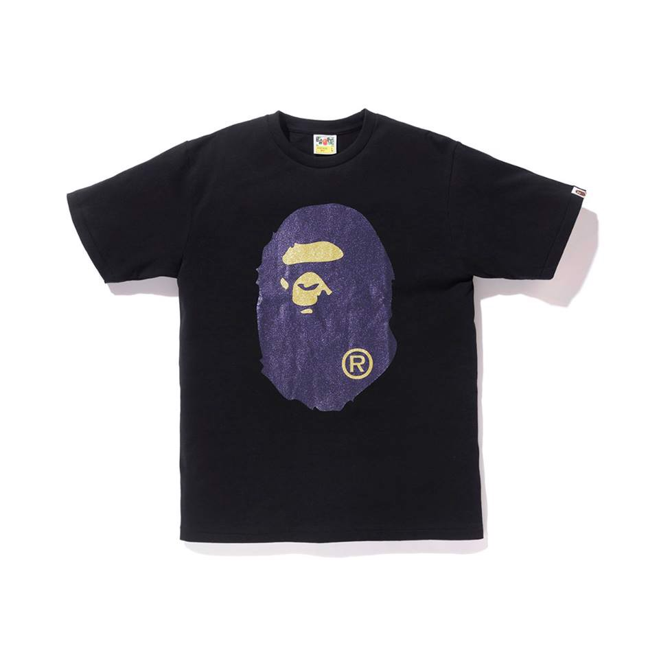 Glitter Big Ape Head Tee SS18