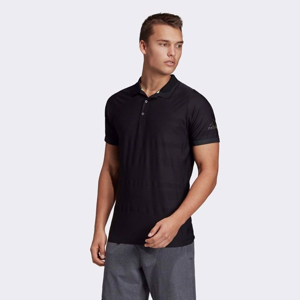 adidas Club Polo Shirt 'Black'