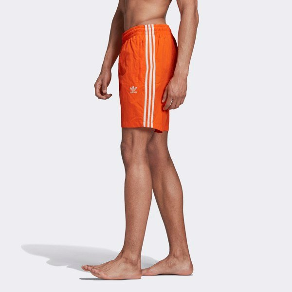 adidas 3-Stripes Shorts - Orange