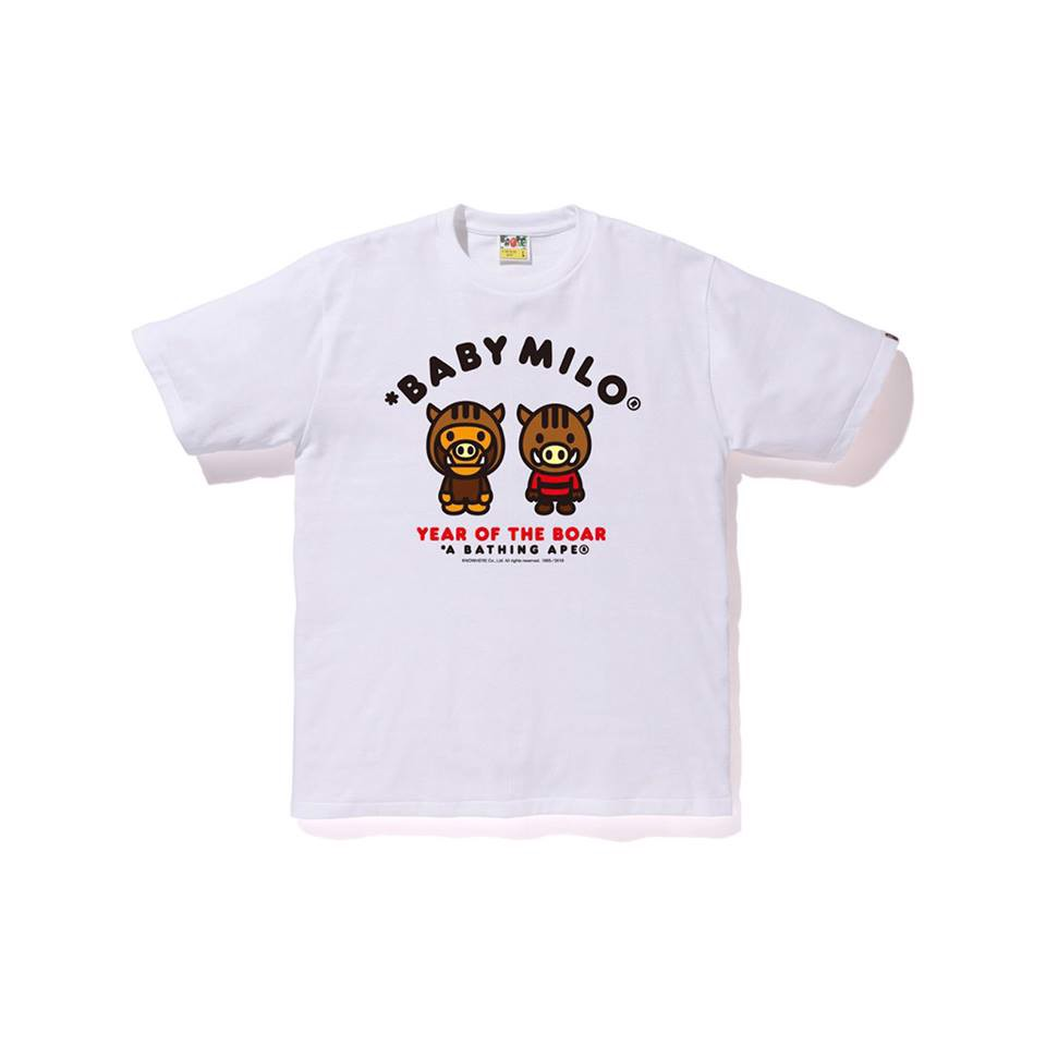 Baby Milo Year of The Boar Tee SS19