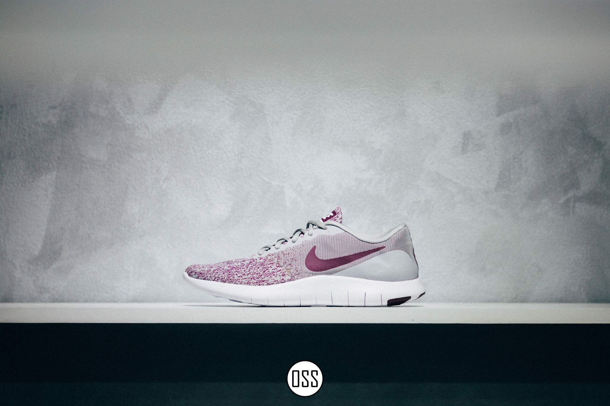 Nike Flex Contact 'Wolf Grey/Bordeaux-White'