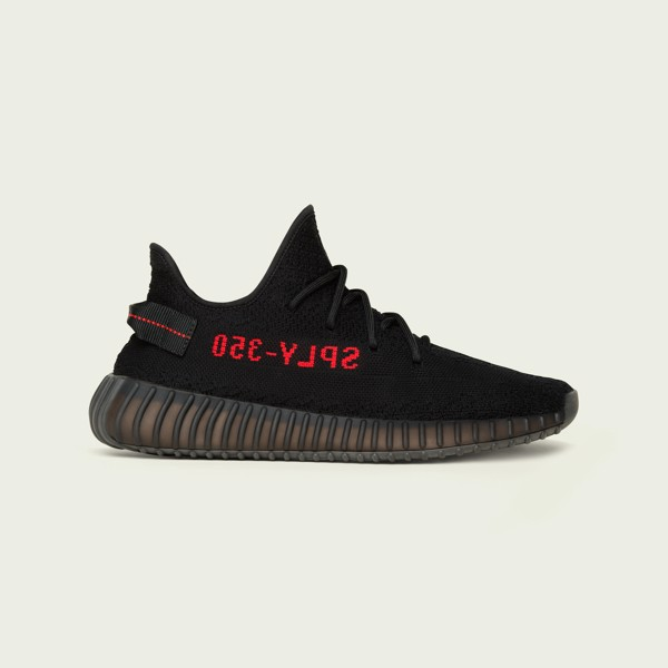 adidas YEEZY BOOST 350 V2 - Core Black/Red