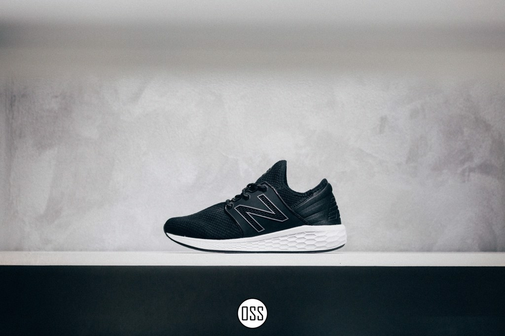 New Balance Fresh Foam Cruz V2 Sport 'Black/White'