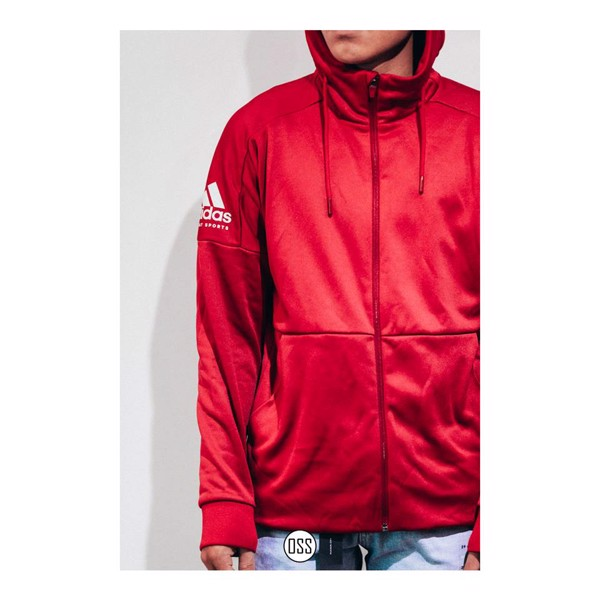adidas Combat Sports Hoodie - Red