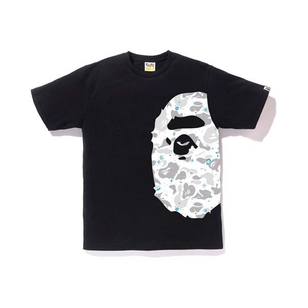 Space Camo Side Big Ape Head Tee SS19