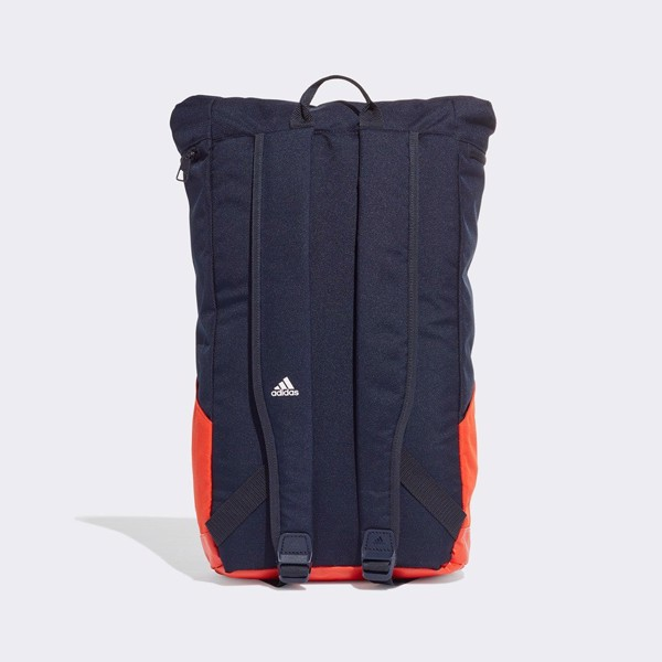 adidas 4CMTE Backpack 'Navy/Orange'