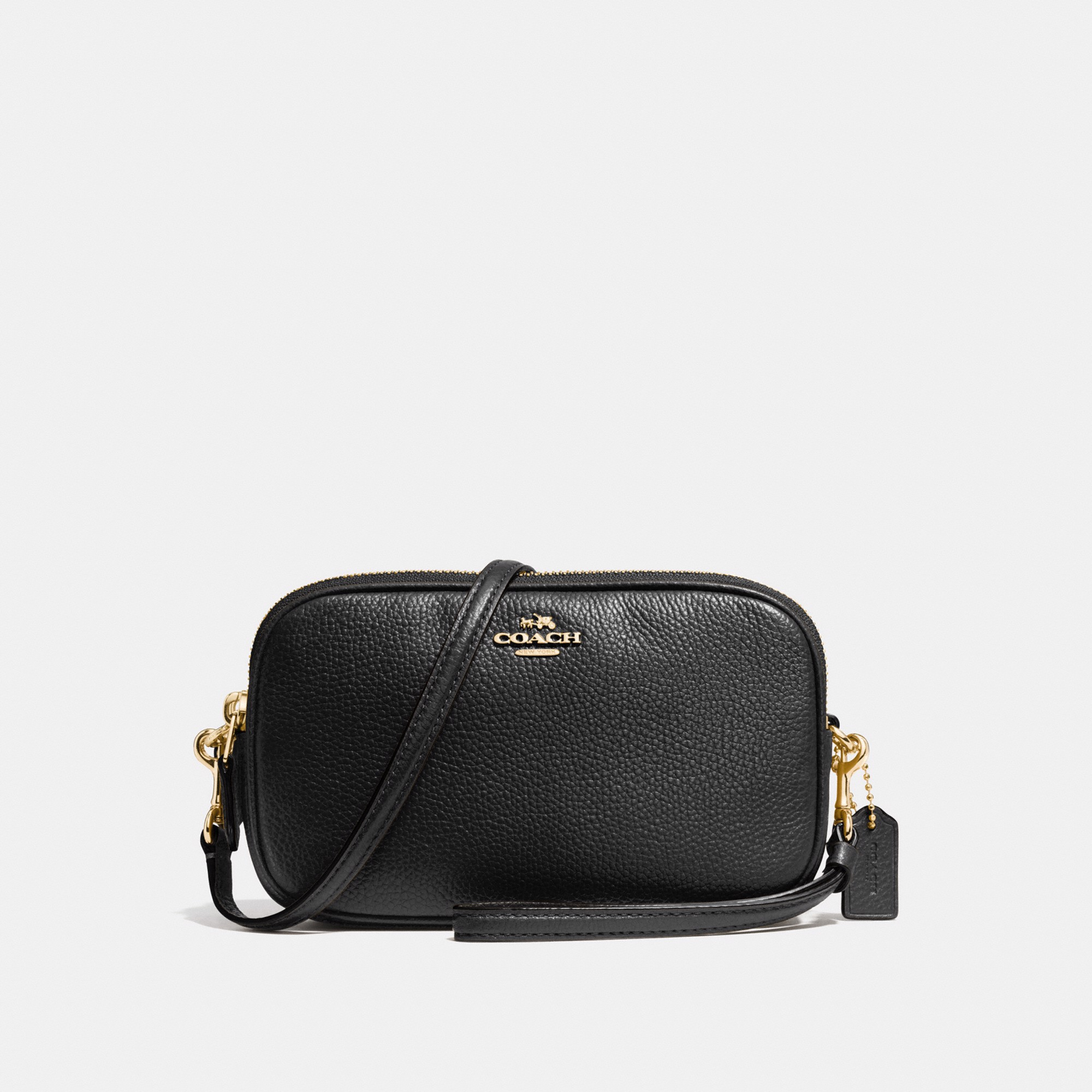 Coach Sadie Crossbody Clutch 'Black'