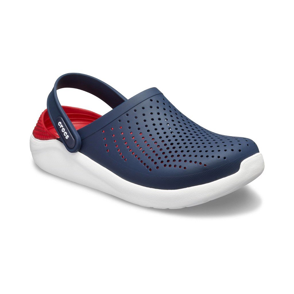 Crocs LiteRide™ Clog 'Blue/Red'