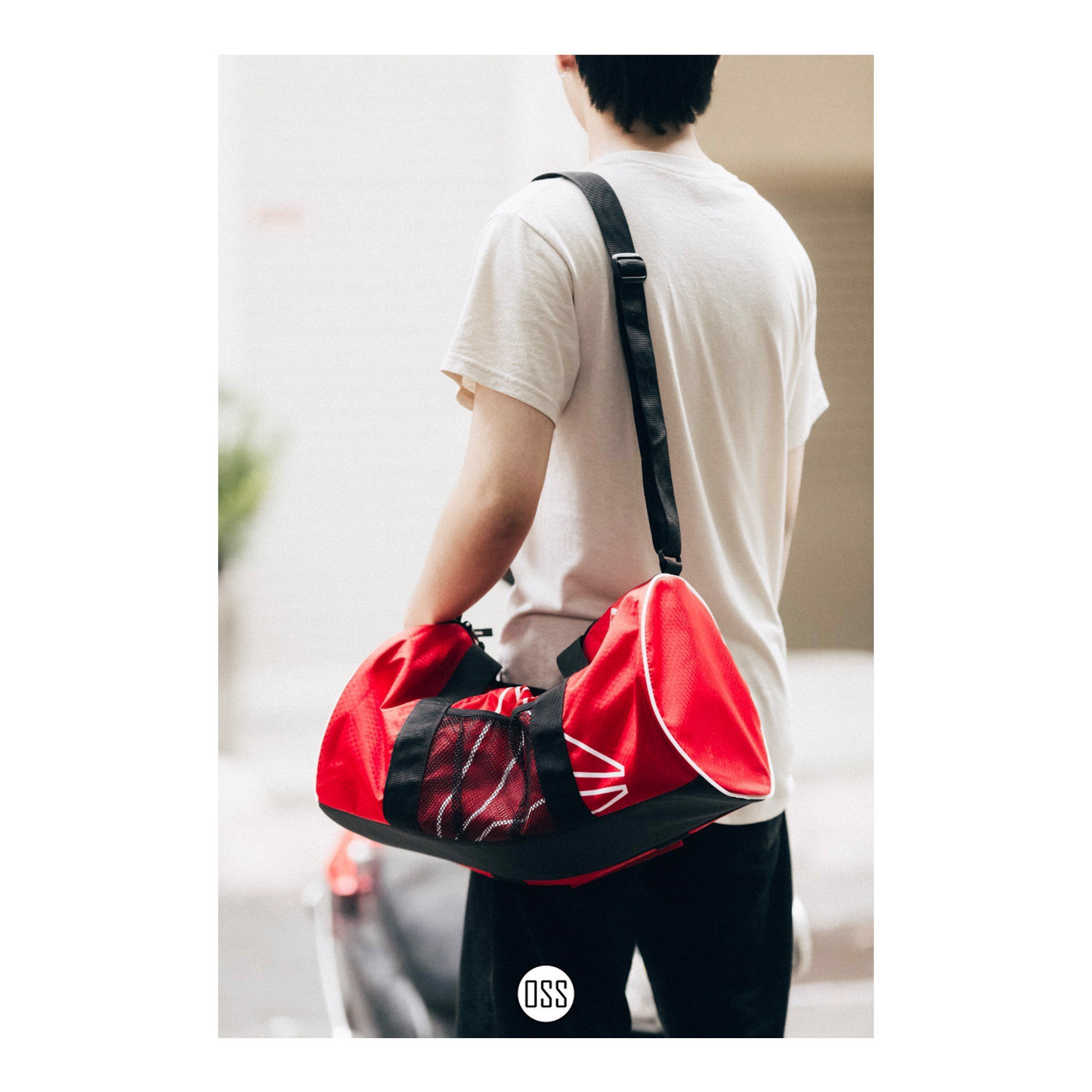 Reebok Pylo Small Duffle 'Red'