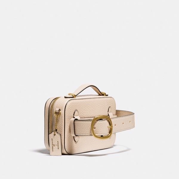 Coach x Jean-Michel Basquiat Alie Belt Bag - Ivory