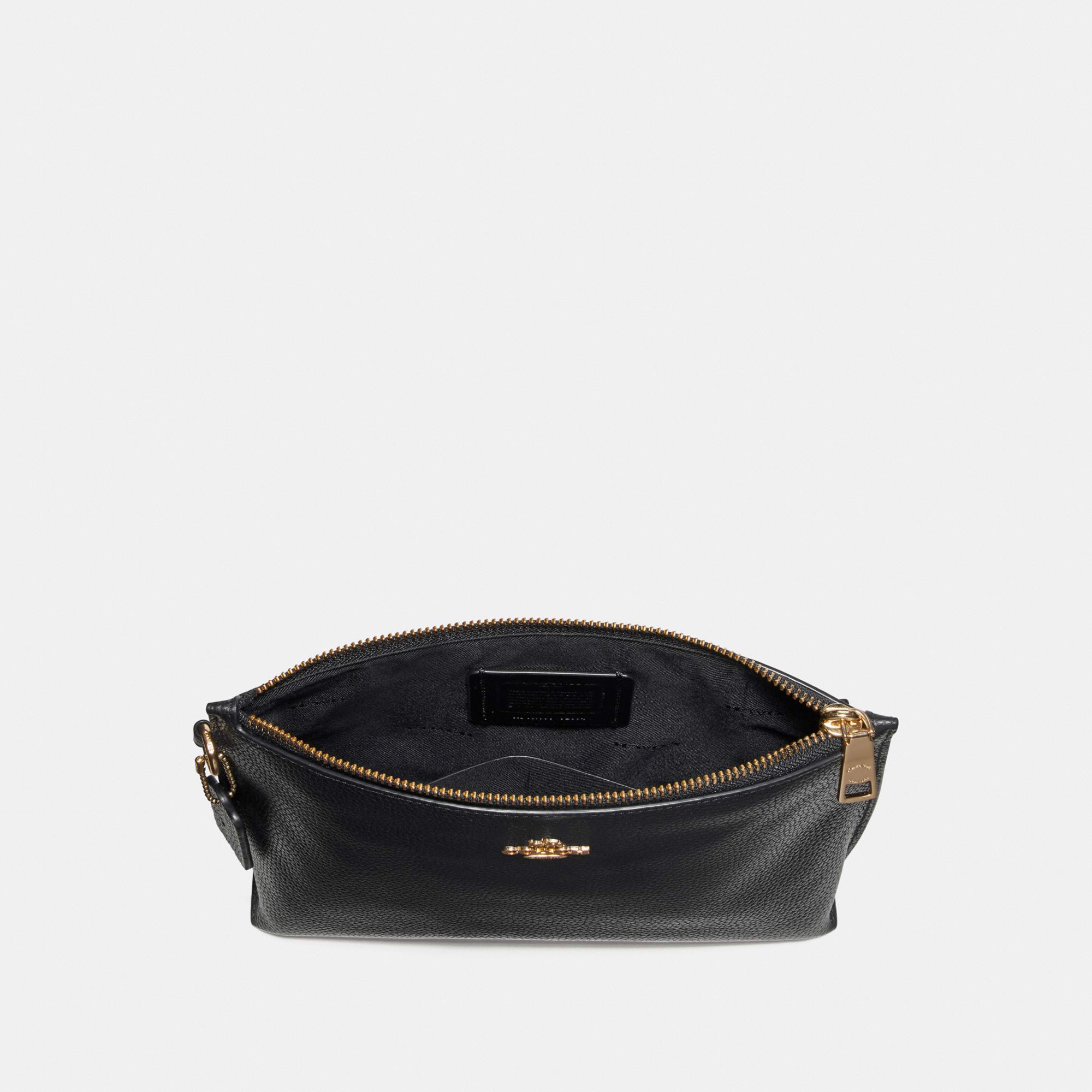 Coach Charlie Pouch 'Black/Gold'